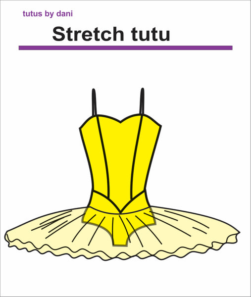 Stretch tutu by Tutus by Dani Legge