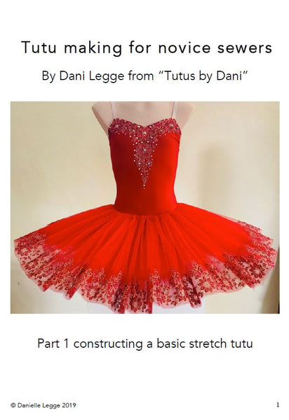 """Tutus by Dani"" Basic Stretch Tutu Instructions"