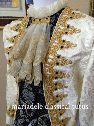 Ballet Men's Jacket, Baroque, by Tutus That Dance