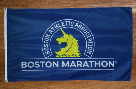 Boston Marathon® Logo Flag