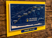 Customized Boston Marathon® Map Print