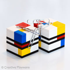 PIET paperclip holder made with LEGO® bricks