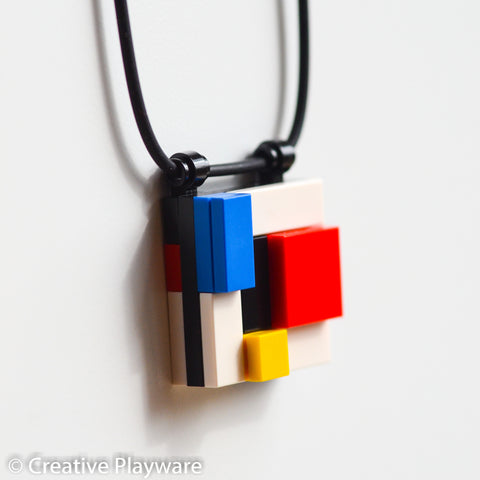 DE STIJL - GERRIT No. 5 necklace. Inspired by Gerrit Reitveld.