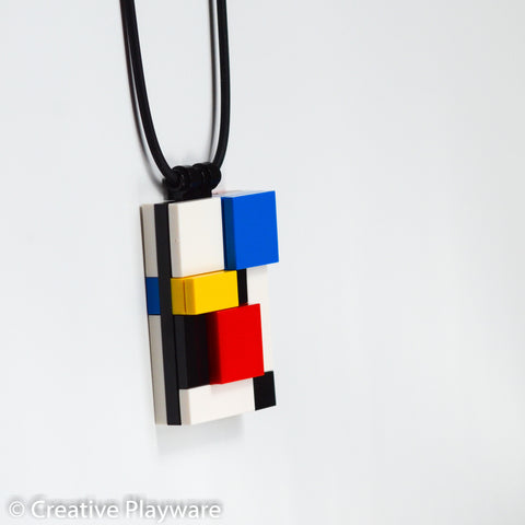 DE STIJL - GERRIT No. 7 necklace. Inspired by Gerrit Reitveld.