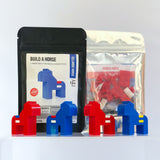 NORDIC HORSES building kits made with LEGO bricks.