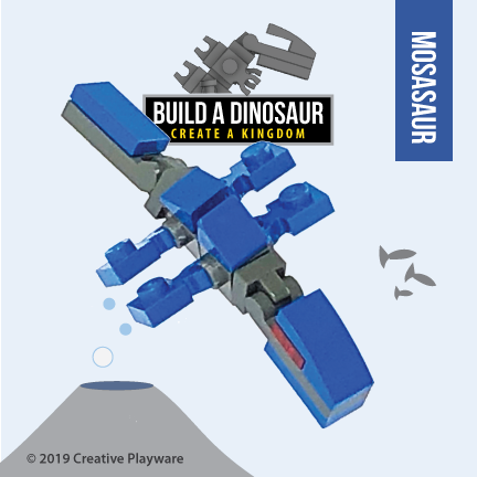MOSASAUR No. 2 building kit