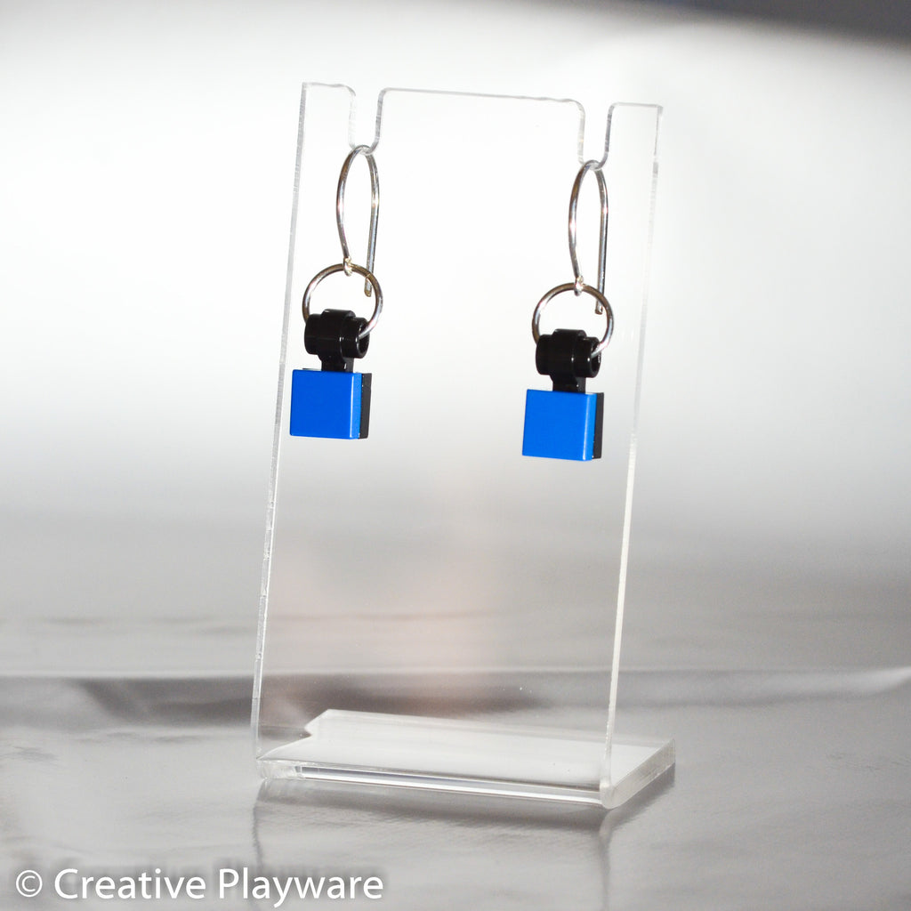 TESSELLATIONS earrings - BLUE