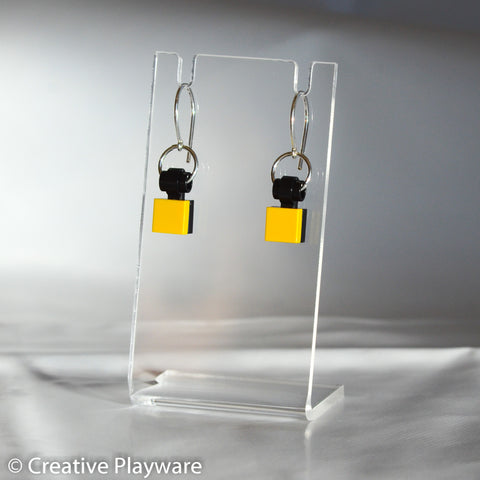 TESSELLATIONS earrings - YELLOW