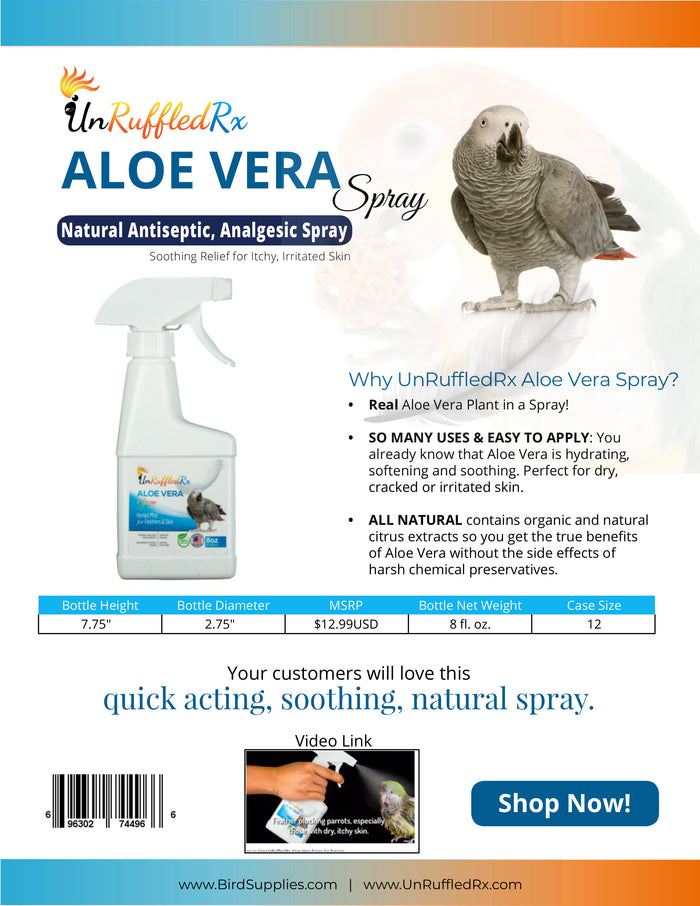 Aloe Vera Spray Sell Sheet