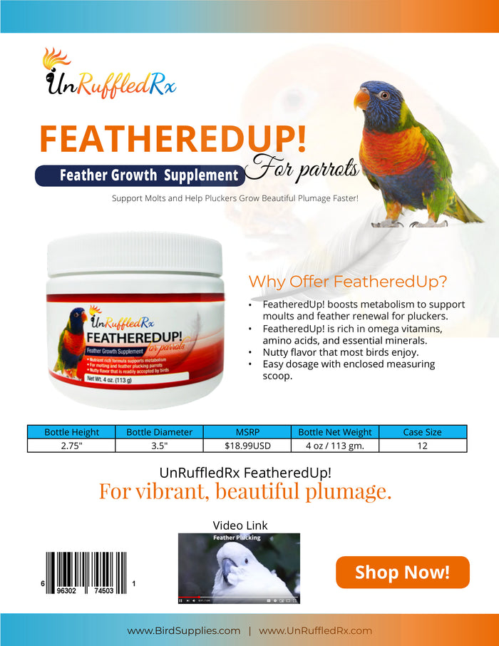 FeatheredUp! Feather Growth Formula Sell Sheet