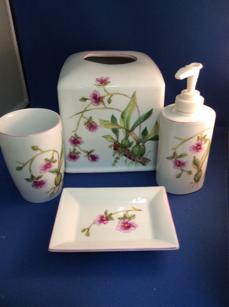 Orchid bath collection