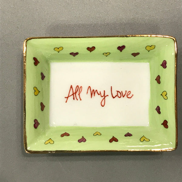 tray all my love