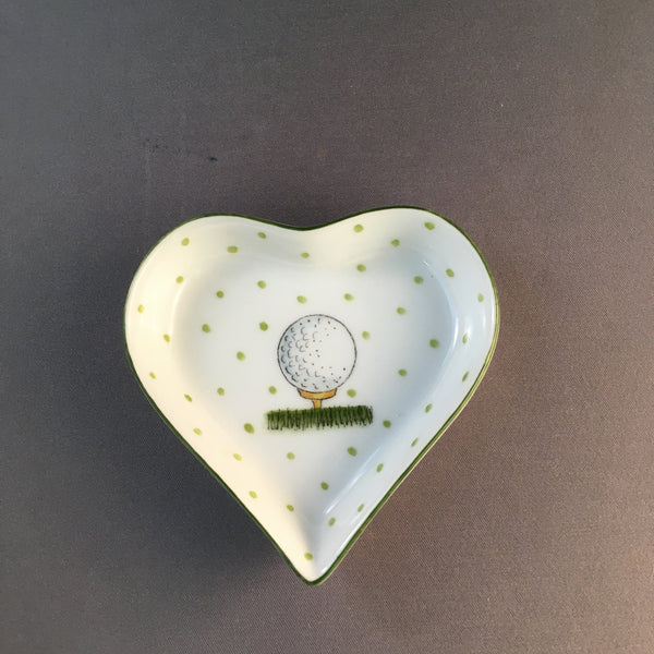HEART GOLF BALL