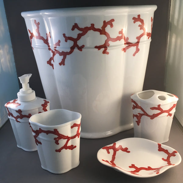 BATH-CORAL BATHROOM SET