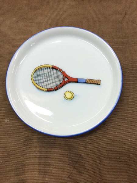 3474 tennis racquet coaster