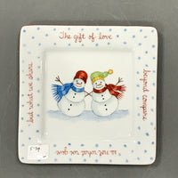 6906 GIFT OF LOVE  snow couple