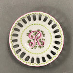 *5120 PORCELAIN INITIAL BONBON DISH-in stock