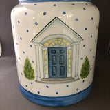personalized  lg. cookie jar