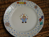 CUSTOM SPECIAL DAY PLATE clown