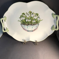 tray snowdrops in bowl