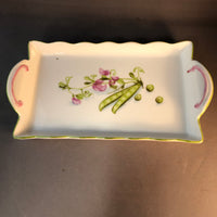 3177 tray Peas with blossoms