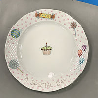 "5038  11 1/2"" Special Day Plate"