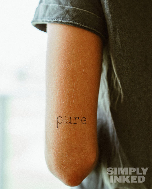 "NEW ""Pure"" Tattoo"