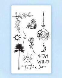 Tropical Life Tattoo Bundle