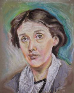Virginia Woolf Pastel