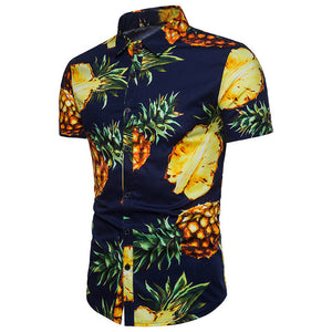 Pineapple Button Up