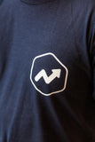 Short Sleeve T-Shirt (Navy Hex Logo)