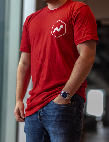 Short Sleeve T-Shirt (Limited Edition, Red Hex Logo)