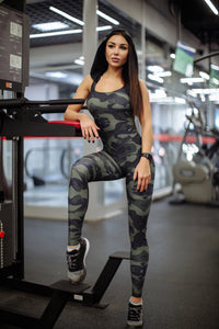 "Jumpsuit for Workout ""Seraphimlady"""