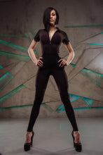 "Load image into Gallery viewer, Jumpsuit ""BodyCorrect""-Black"