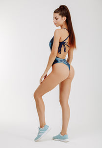 "One Piece Swimsuit ""Frozen Throne"""