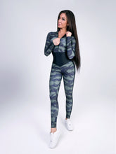 "Load image into Gallery viewer, Jumpsuit for Workout ""Arcana Military"""
