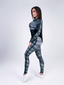 "Jumpsuit for Workout ""Arcana Military"""