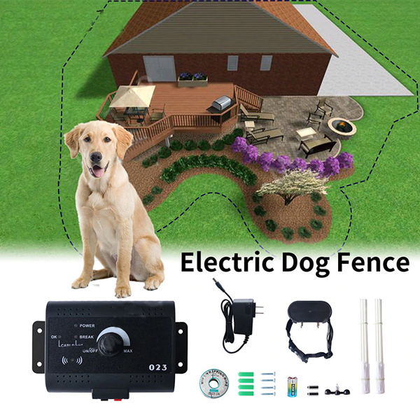 Ziggy Dog Electric Waterproof Fence With Training Collar