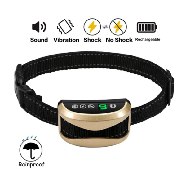 Dog Waterproof Rechargeable Anti Bark Collar