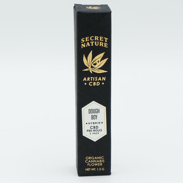 Secret Nature Organic CBD Hemp Pre-Rolled Joints 2 Pack