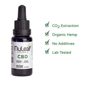 NuLeaf Full Spectrum CBD Oil, High Grade Hemp Extract (Use Discount Code NULEAF15 for 15% OFF)