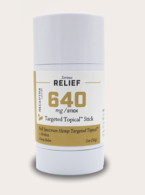 Receptra 640mg Targeted Topical Stick