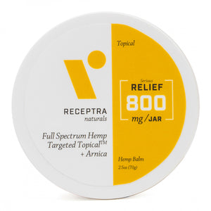 Receptra Serious Relief + Arnica Targeted Topical (400mg & 800mg)