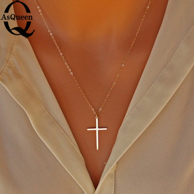Small Cross Pendants and  Necklaces