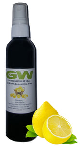 GW Before You Go Bathroom Spray with Fresh Lemon Citrus Scent (4oz)