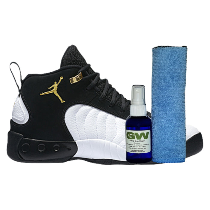 GW Shoe Cleaner Kit for Shoes and Sneakers with Premium Microfiber Cloth
