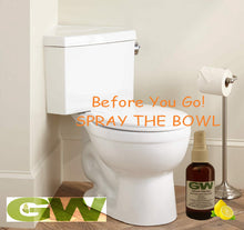 Load image into Gallery viewer, GW Before You Go Bathroom Odor Buster Toilet Spray