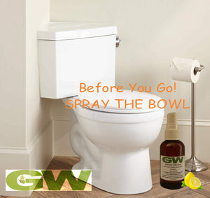 GW Before You Go Bathroom Odor Buster Toilet Spray