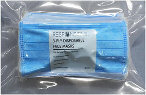3 Ply Disposable Face Mask (1400/Case)