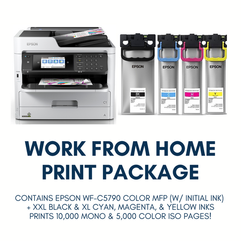 Exclusive Work from Home Print Package!